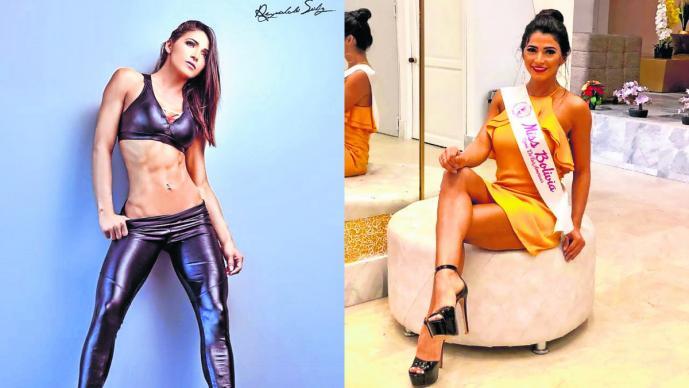 Adriana Mendez Miss bala Reina Bolivia