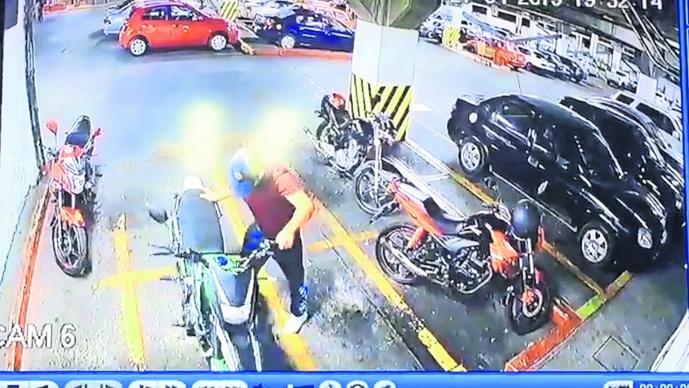 Roban motocicleta Robo expres Morelos Cuernavaca