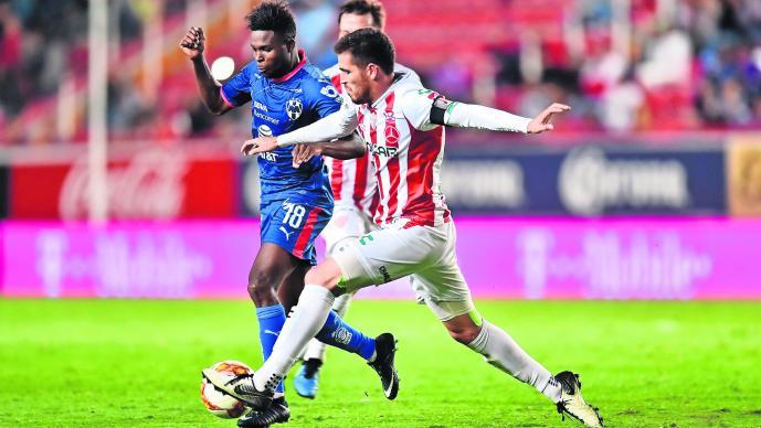 Monterrey se enfrenta ante Necaxa en cuartos de final sin Brian Fernández