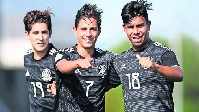 méxico selección sub 17 cuartos de final vence Puerto Rico