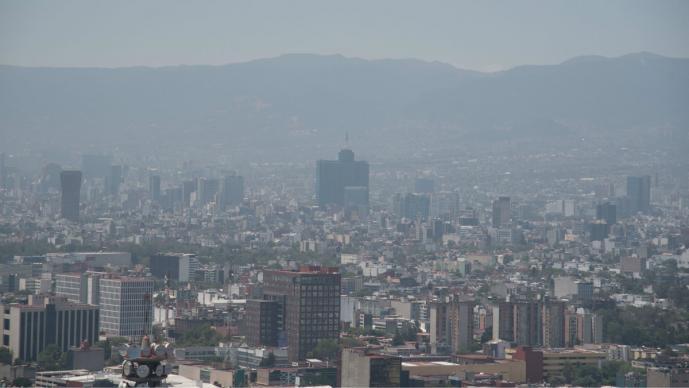 contingencia ambiental mala calidad aire contaminación méxico