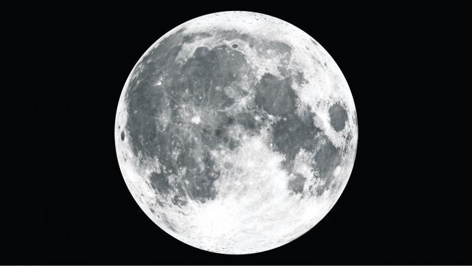 La NASA revela la Luna