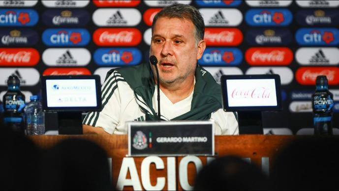 Gerardo Martino da prelista para la Copa Oro