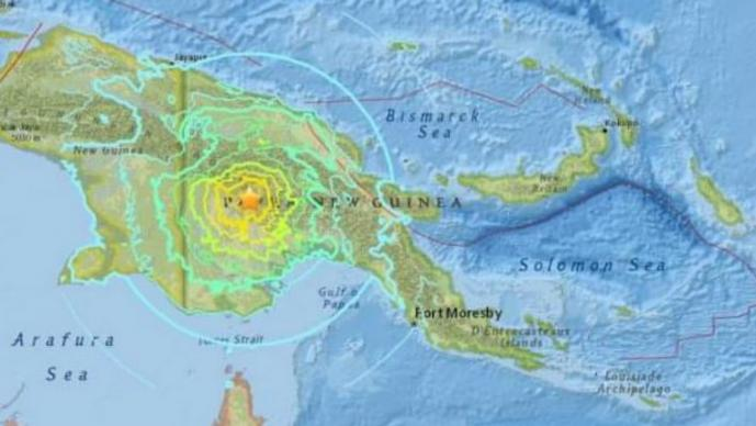 papúa nueva guinea sismo terremoto alerta tsunami