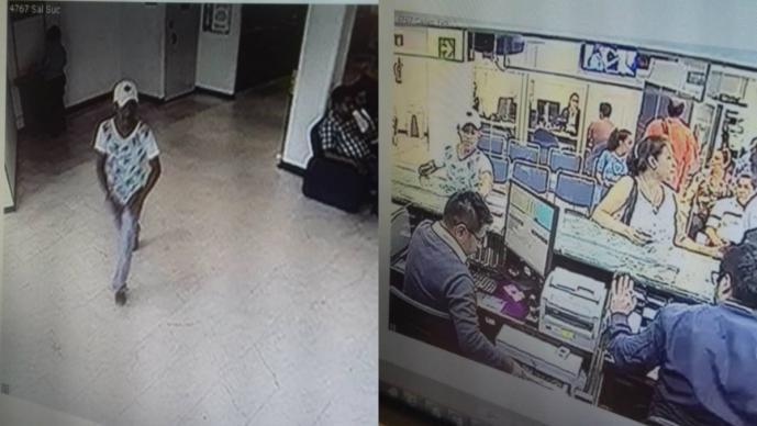 A punta de pistola ladrón solitario asalta banco de Cuernavaca