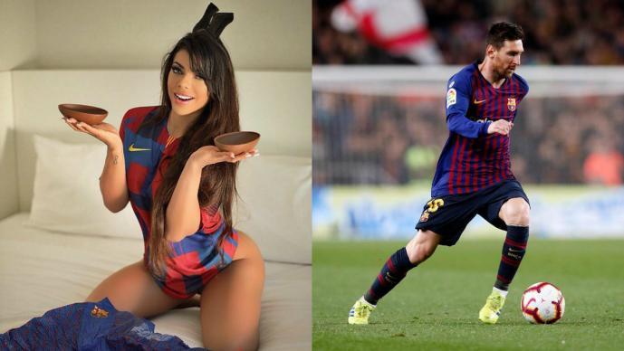 Diez veces en que Suzy Cortez le dedicó una tanga a Lionel Messi