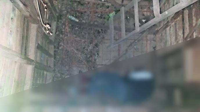 Hombre cae a cisterna En obra negra Edomex Toluca