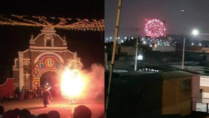 multa millones de pesos mala calidad de aire quema de pirotecnia iglesias toluca