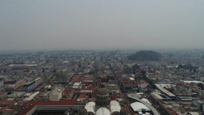 Suspenden clases en 34 municipios del Edomex por contingencia ambiental