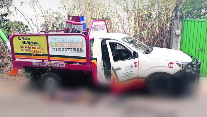 asesinan balazos gaseros repartidores de gas chamilpa