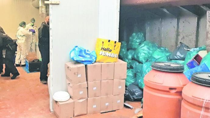 desmantelan laboratorio drogas metanfetamina cárteles mexicanos barco holanda