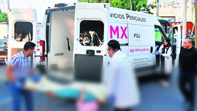 Abuelita muere tras ser atropellada por camión de pasajeros en la Gustavo A. Madero