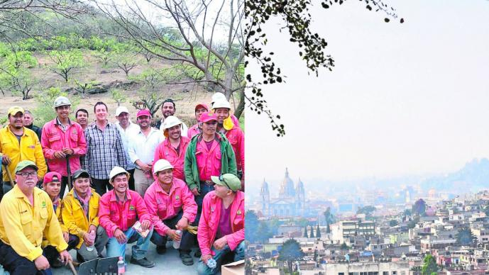 Contingencia ambiental Incendios forestales Valle de Toluca Edomex