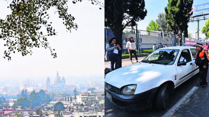 contingencia suspenden revisión vehículos verificación toluca