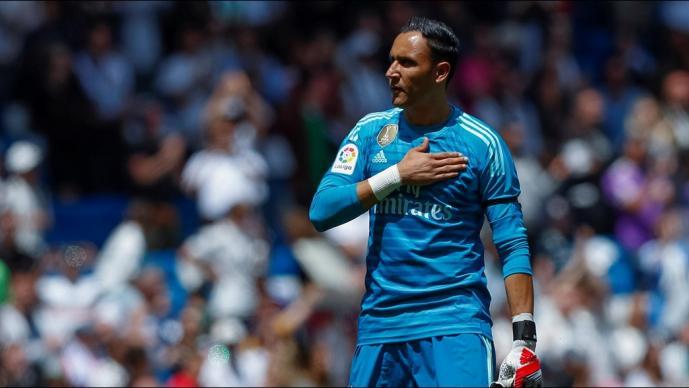 Keylor Navas se despide del Real Madrid