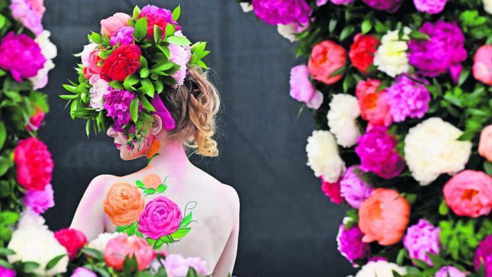 festival floral jardines chelsea flower show inglaterra