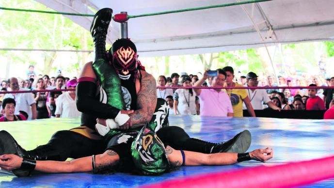 lucha libre función zócalo cuernavaca