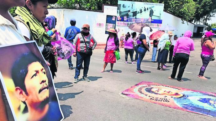 marcha exigen avances asesinato homicidio activista samir cuernavaca morelos