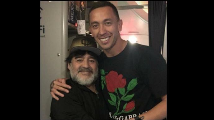 Marchesín se emociona como un fan tras ver a Maradona