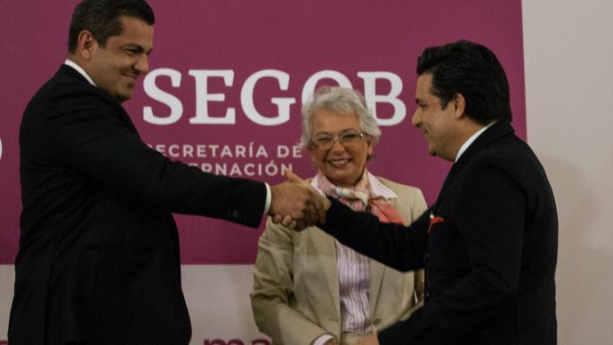 susecretario de gobernacion Ricardo Peralta Saucedo