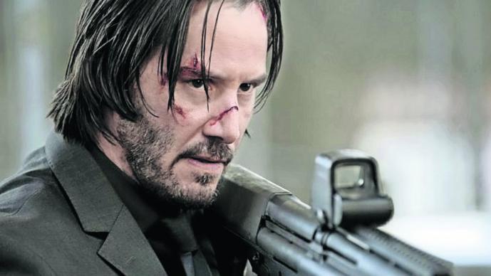 Keanu Reeves asesino de noble corazón