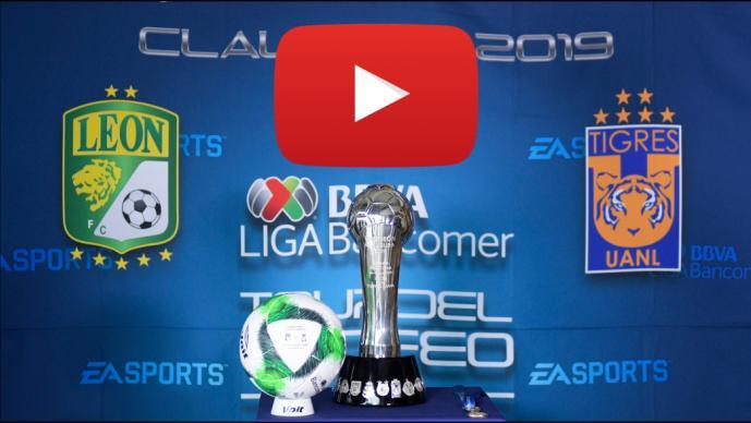La final León vs Tigres será transmitida en Youtube