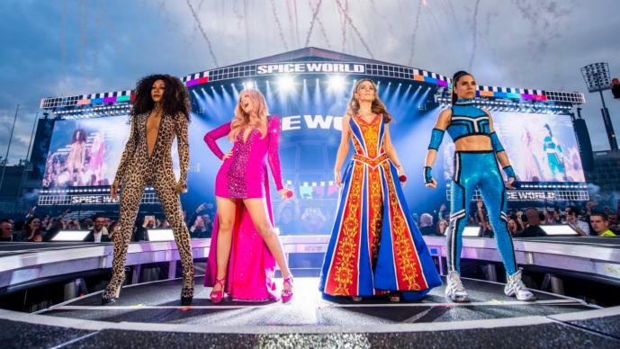 Spice Girls Regreso al escenario Irlanda Dublín