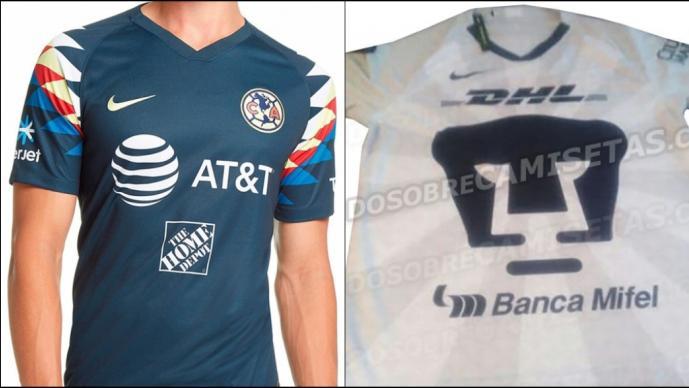 Filtran posible uniforme de Pumas para el Apertura 2019