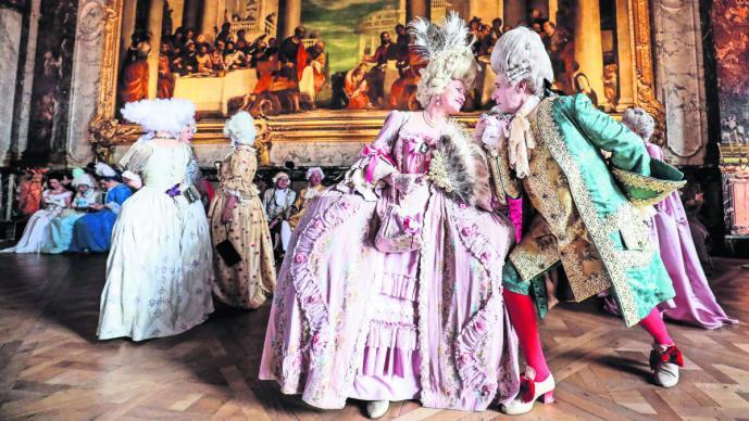 fiesta cortesana palacio de versalles temática disfraces época Francia Fiestas galantes