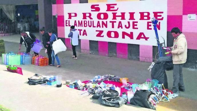 operativos contra comercio informal afecta artesanos otomíes toluca