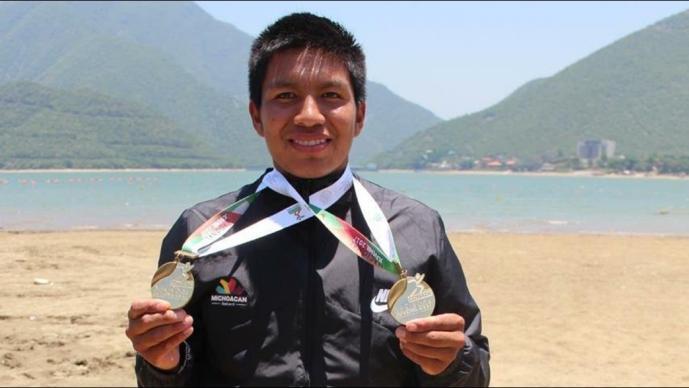 Rigoberto Camilo, campeón en Mundial de Canotaje