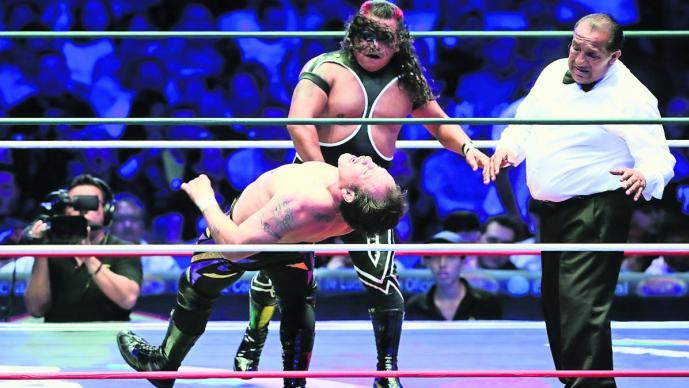 retiro el metálico pierde contra virus duelo cuadriláteros lucha libre