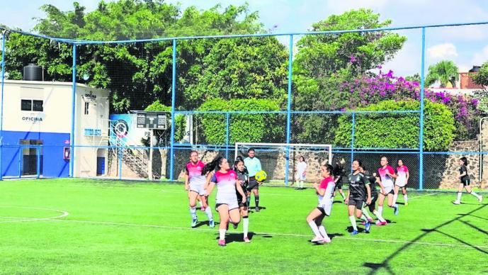 inicia torneo futbol siete