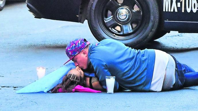 el ultimo beso mujer asesinada travesti cdmx