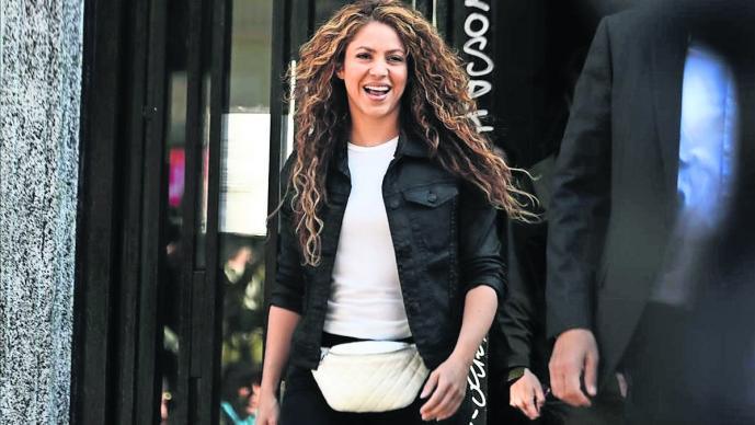 Shakira compareció Juzgado