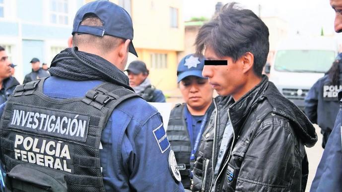 arrestan sujeto trata cautiva Edomex
