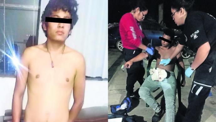 intento asalto joven drogado navajea menor de edad detenido morelos