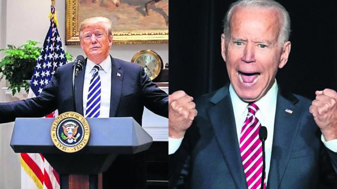 Donald Trump  Joe Biden Elecciones Estados Unidos