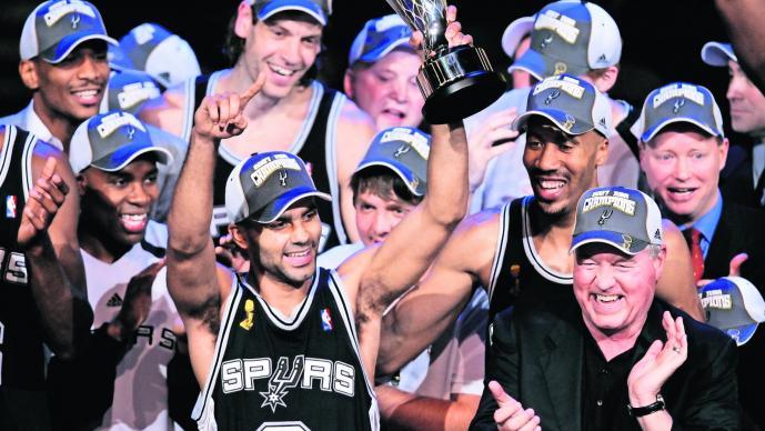 Tony Parker Spurs de San Antonio Despedida Retiro NBA
