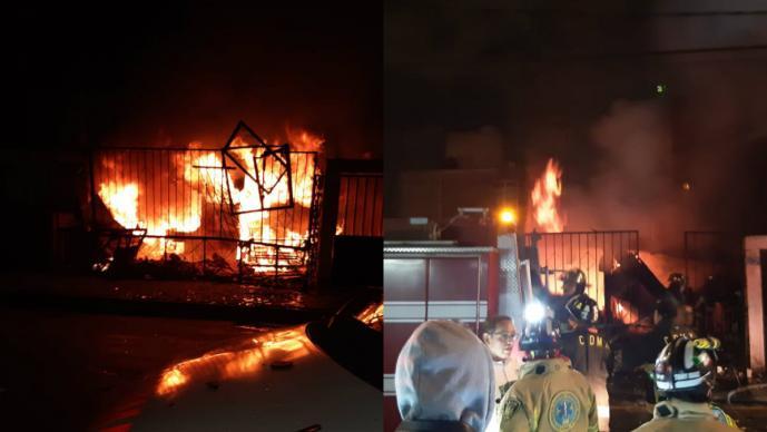 mujer tercera edad muere en incendio iztapalapa