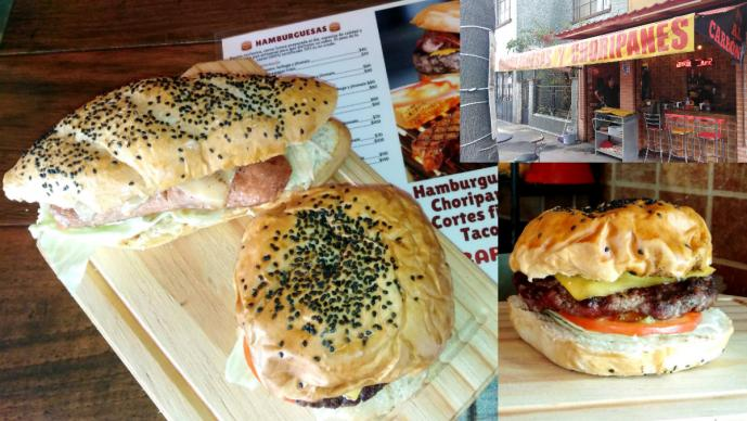 hamburguesas choripanes cdmx comida