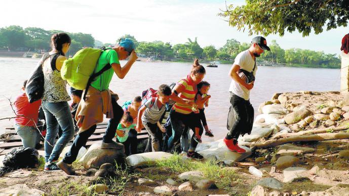 Crisis migratoria Reportan 24% más de detenciones de niños y adolescentes en México