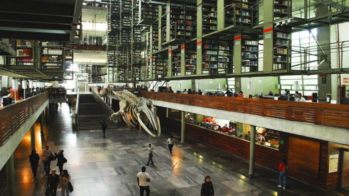 Biblioteca Vasconcelos Reabre puertas Aumento salarial CDMX