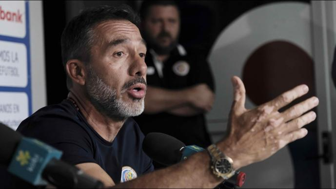 Técnico de Costa Rica comparó a Nicaragua con el Real Madrid
