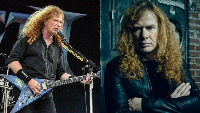 dave mustaine diagnosticado cáncer garganta líder vocalista Megadeth