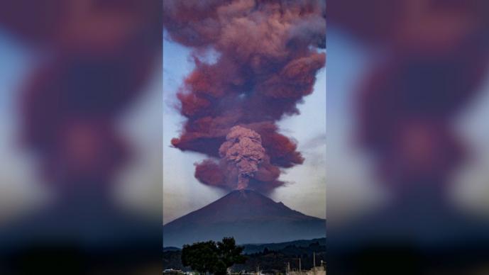 explosión volcán popocatépetl amarillo fase 2 cenizas valle de méxico, morelos, puebla, México