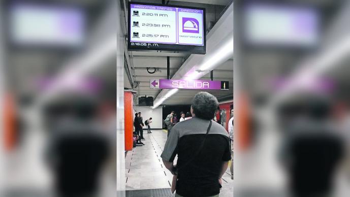 Metro avisa tiempos traslados CDMX