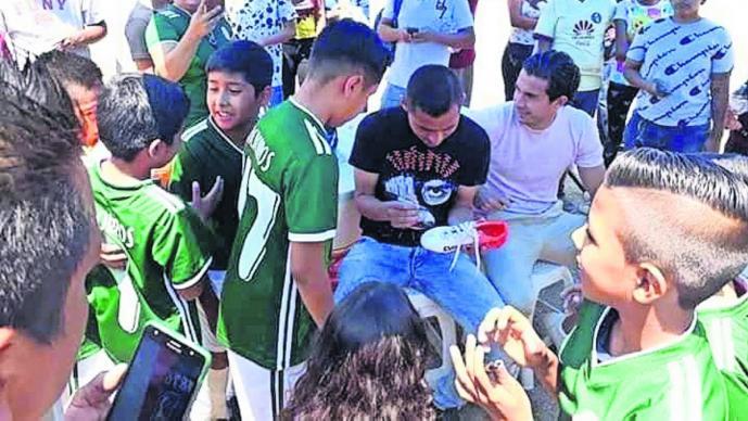 Paul Aguilar Liga de Fútbol Campeones de Tlayacapan Padrino de lujo Morelos