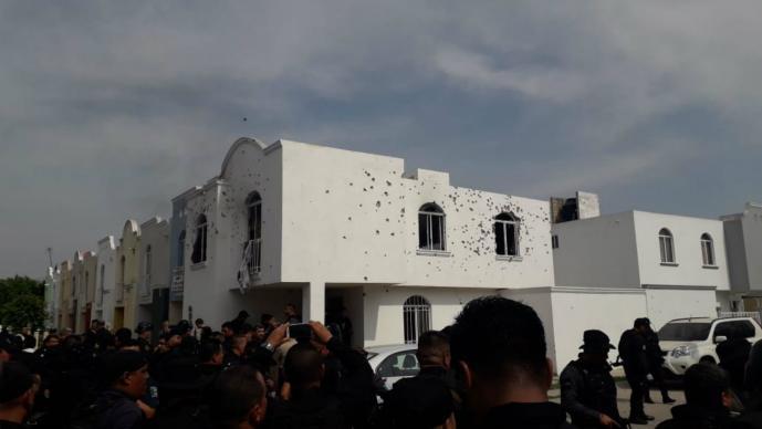 Balacera Jalisco Tlajomulco de Zúñiga Agente muerto