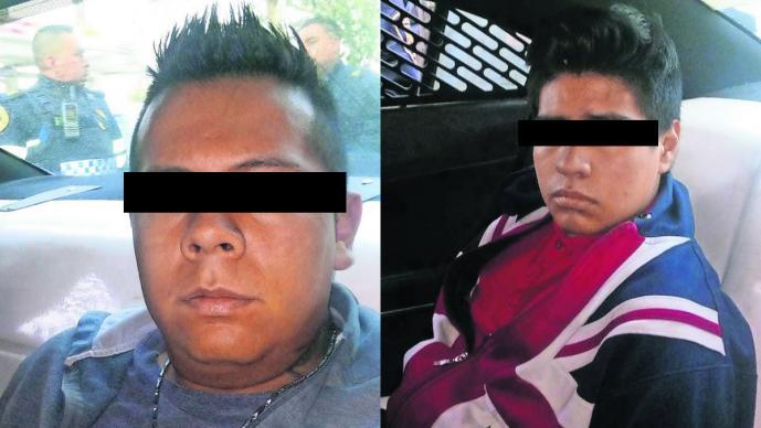 Detienen a ladrones Pistola sin balas Calzada Zaragoza CDMX